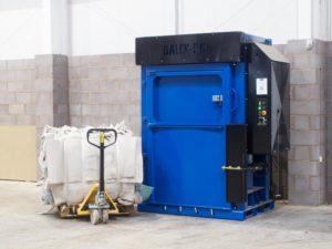 Bailex 50-ton bailing machine